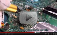 Wymiana mostka północnego w laptopie HP Pavilion DV6000