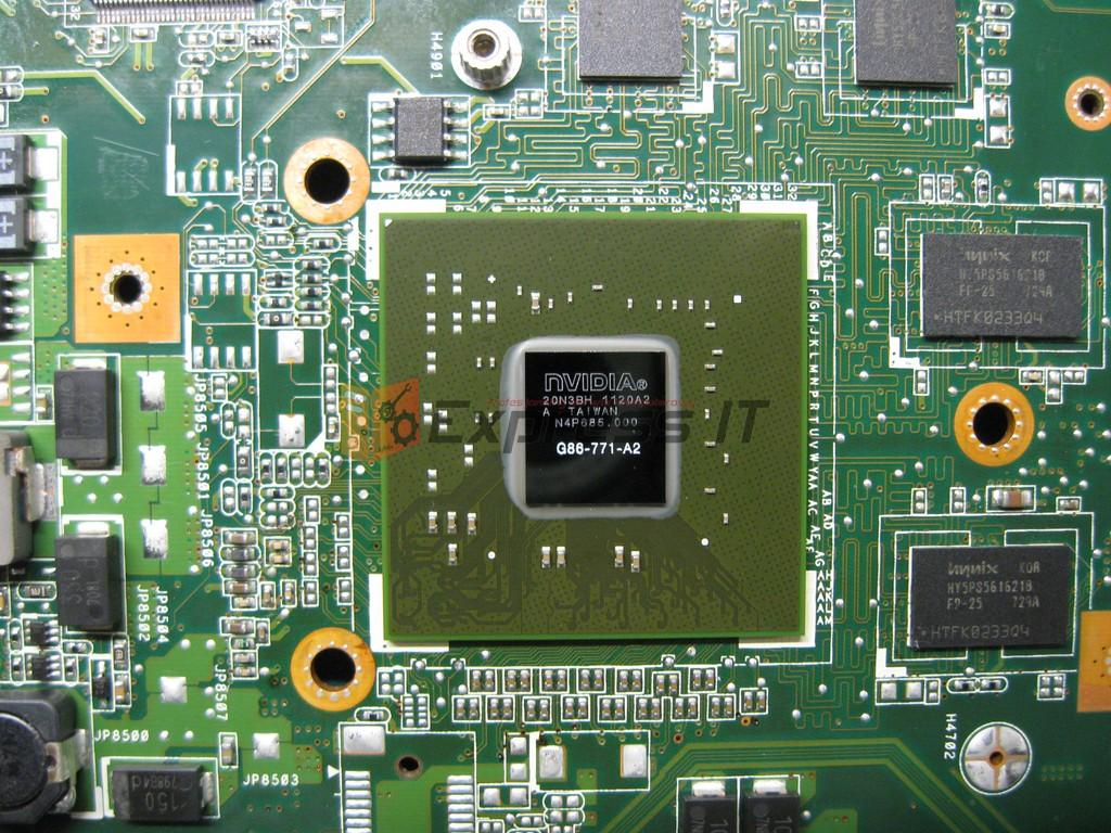 lutowanie bga nowy układ nvidia dc11