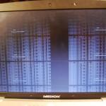 ekran podzielony na 6 części