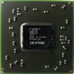 Układ BGA ATI IGP 216-0774009. Jest to karta grafizcna ATI Radeon Mobility HD5470.