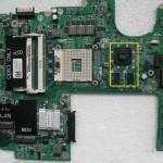 Płyta główna do DELL STUDIO 1557. Model płyty DA0FM9MB8D1.