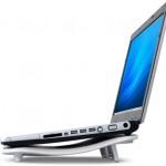 Podkładka chłodząca pod laptopa. Jej użycie powinno obniżyć temperaturę pracy laptopa.
