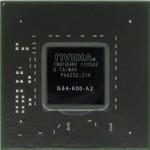 Układ BGA G84-600-A2. Jest to karta graficzna GeForce 8600M GT do laptopa DELL XPS M1530.