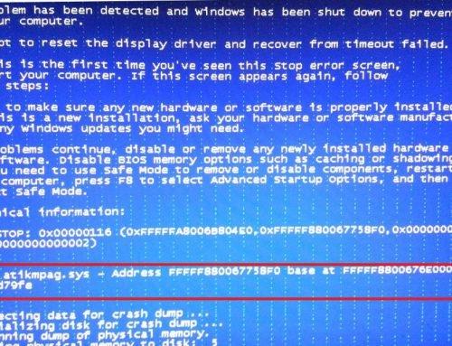 atikmdag.sys i niebieski ekran bluescreen – przyczyny oraz naprawa