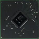 Układ BGA karty graficznej do laptopa Acer Aspire 5741G. Jest to karta Radeon Mobility HD 5470 a model układu BGA to 216-0774007.
