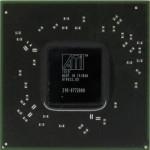 Tak wygląda układ BGA karty graficznej Radeon Mobility HD5650 stosowanej w laptopie Acer Aspire 5552G. Oznaczenie układu BGA to 216-0772000.