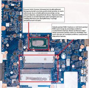 Lenovo G50-70 płyta główna ACLU1-ACLU2 UMA NM-A272 Rev 1.0. Wersja z grafiką zintegrowaną Intel.