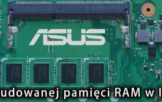 wyłączanie wbudowanej pamięci ASUS
