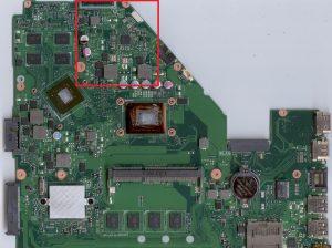 asus F550C-X550C nie uruchamia się